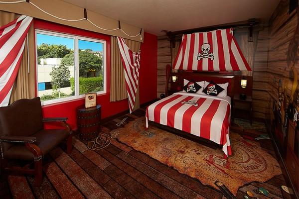 Legoland Hotel Pirate Themed bedroom