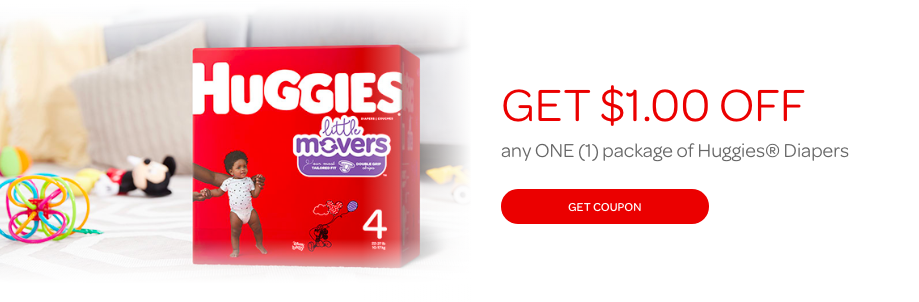 Huggies Free Digital Printable Diaper Coupons