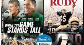 When the Game Stands Tall RUDY movie package