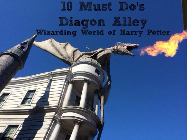 10 Must Do Attractions and activities at Diagon Alley Wizarding World of Harry Potter