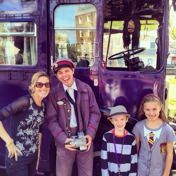 Knight Bus Driver at Diagon Alley