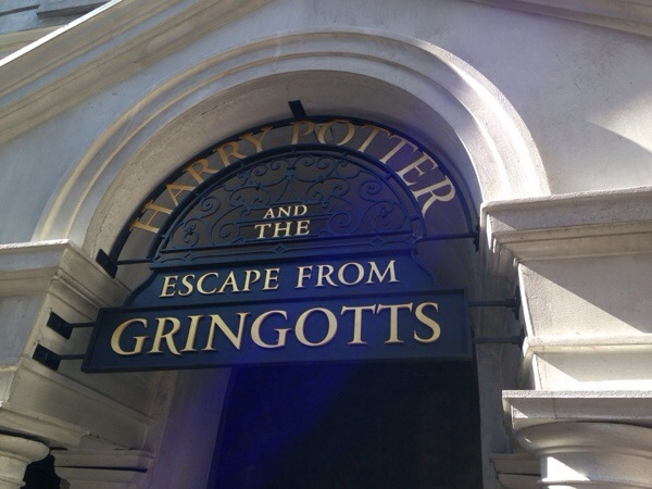 Escape From Gringotts Ride Photos