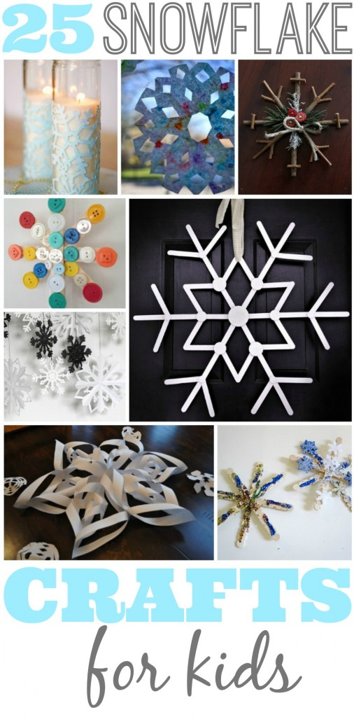25 Snowflake Crafts