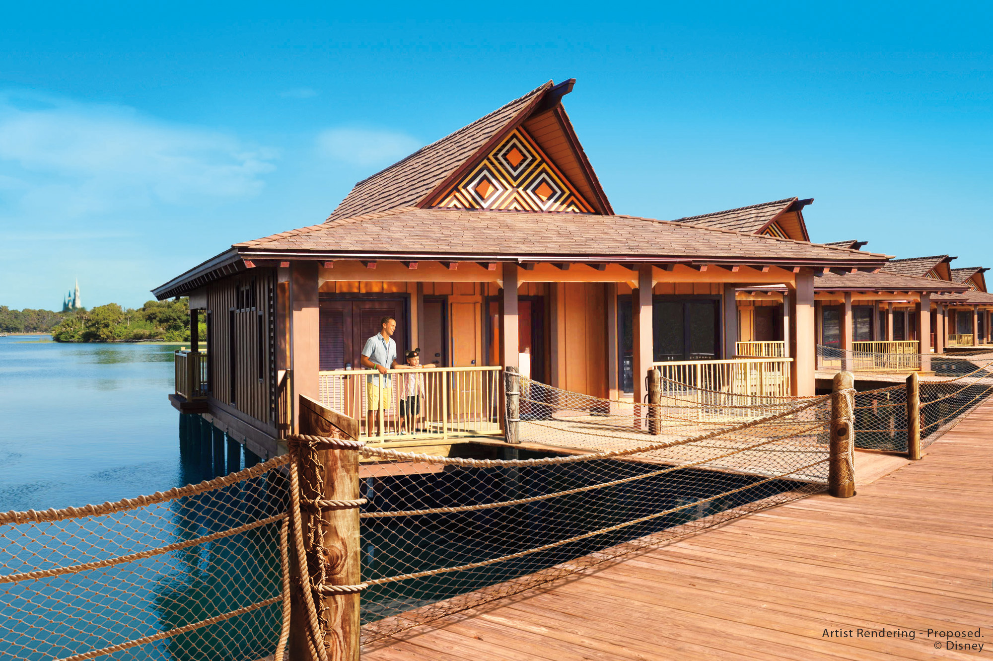 Disney's Polynesian Villas & Bungalows at Disney's Polynesian Village Resort
