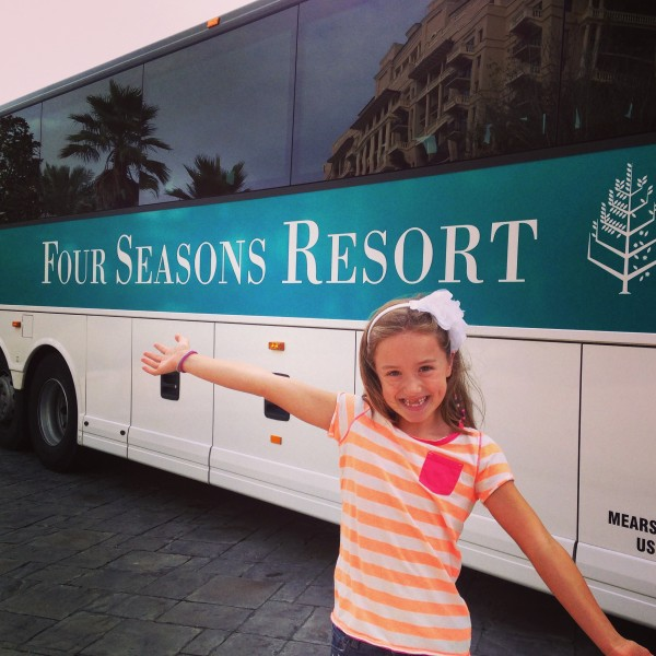 Four Seasons Disney Luxury Bus Transportation