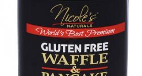 Nicole's Natural Gluten Free Waffle and Pancake mix