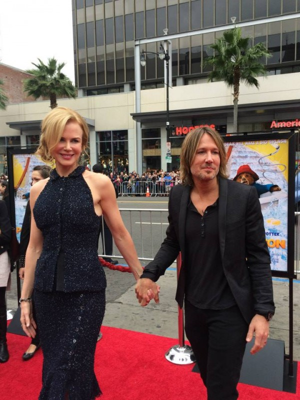 Paddington-Premiere photos of Nicole Kidman