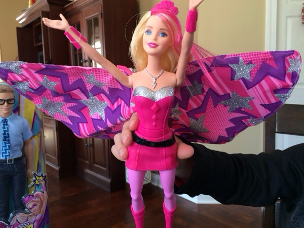 Barbie Super Hero Video Review