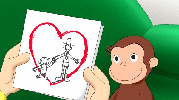 Curious George Valentine's Day episode