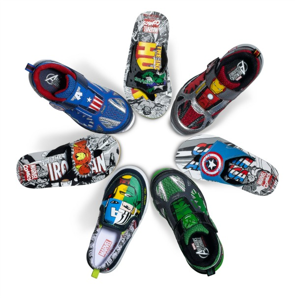 Marvel Stride Rite shoes