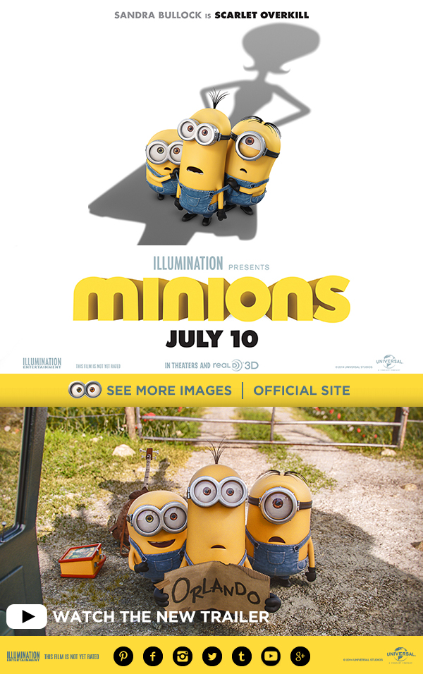 Minions Movie Poster July 10th