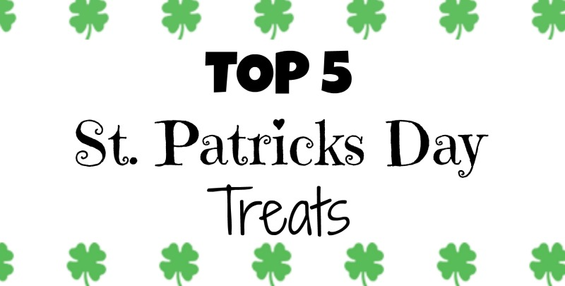 Top 5 Cute St. Patrick's Day Desserts and Treats