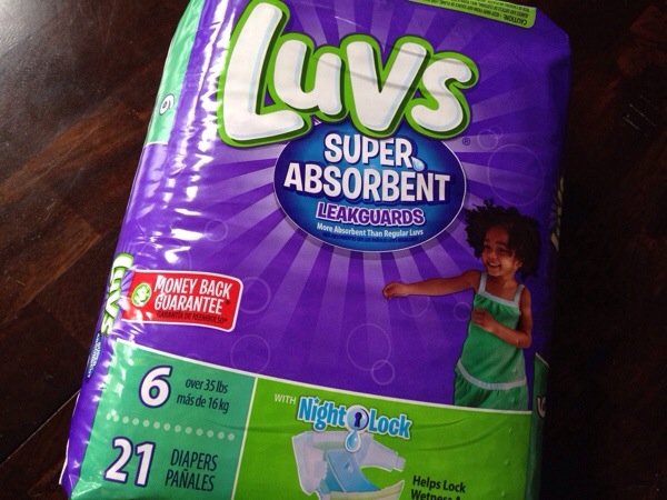 LUVS Super Absorbent Diapers