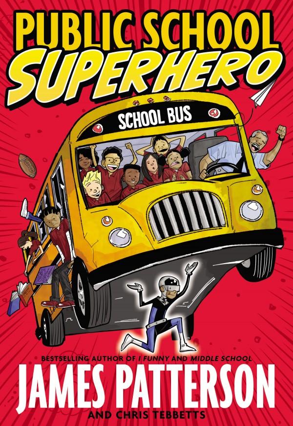 public school super hero book cover