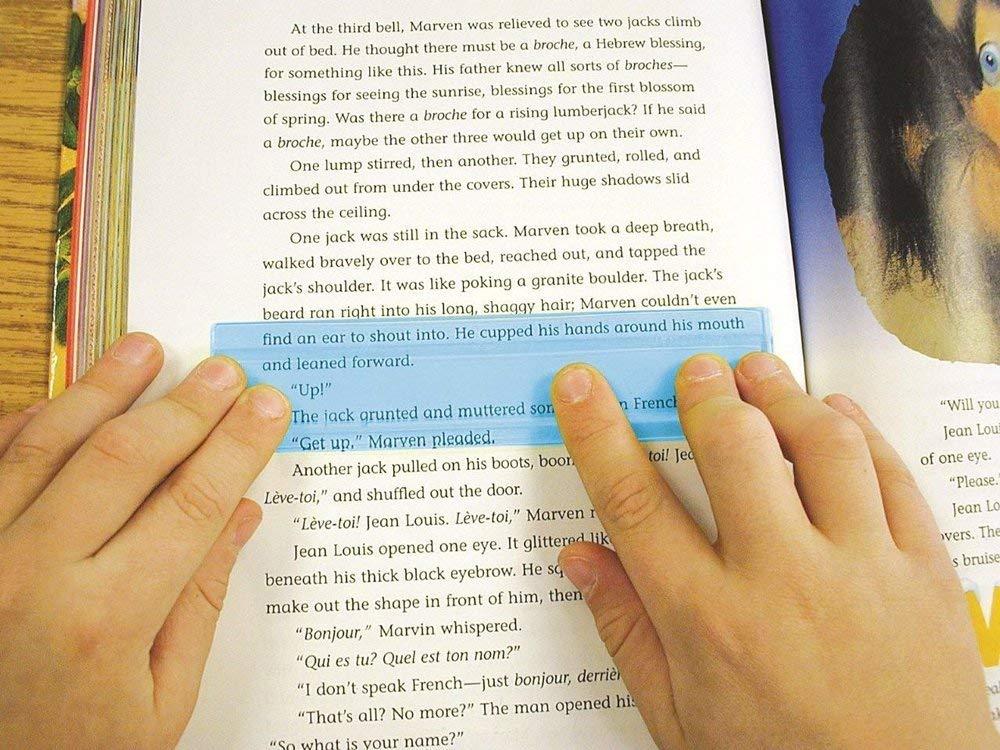 reading highlighter for eye tracking issue