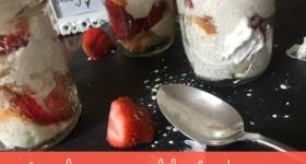 Strawberry Angel Food Cake Dessert Jars Recipe