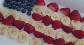 4th of July Fruit Flag Platter Recipe