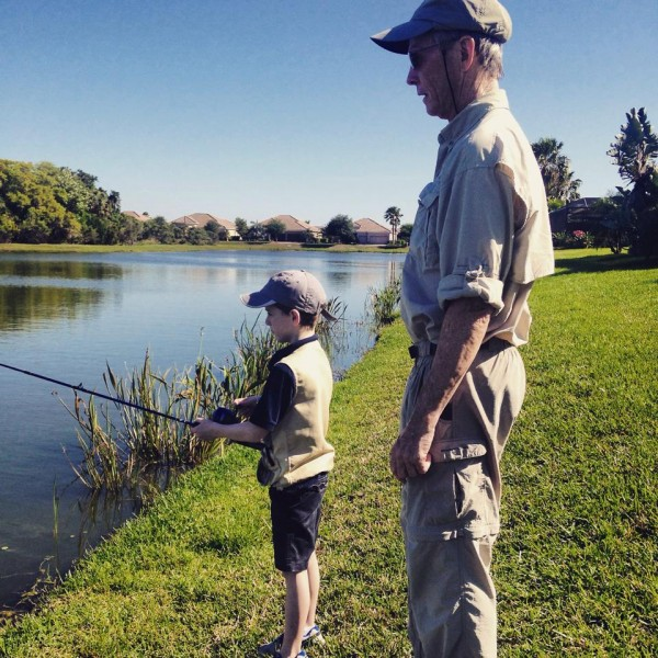 Fishing Poppy and Kyle