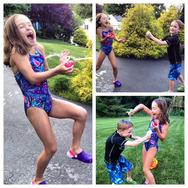 water balloon fun