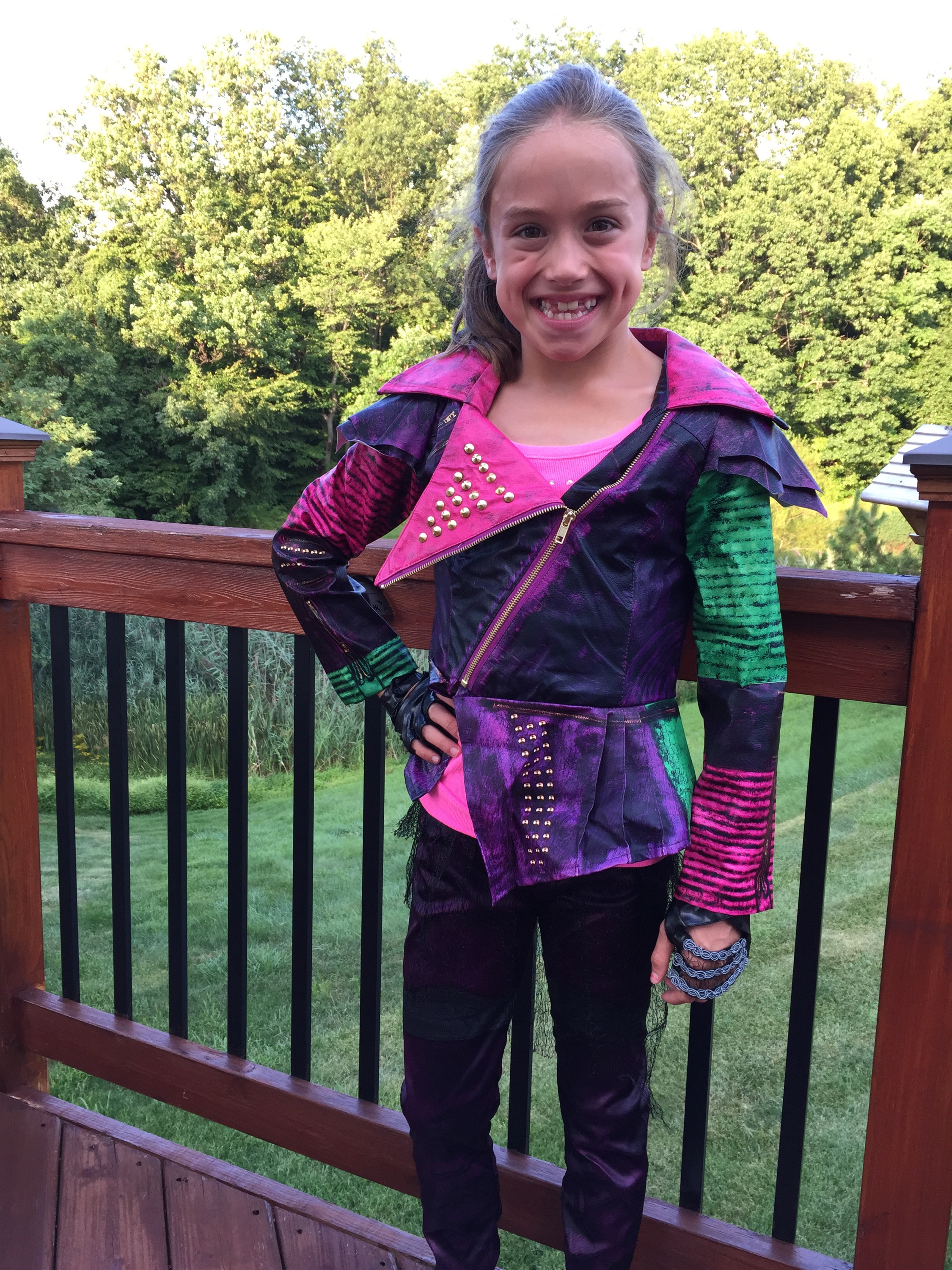 Disney Descendants Mal Costume Photos Video and Ideas for ...
