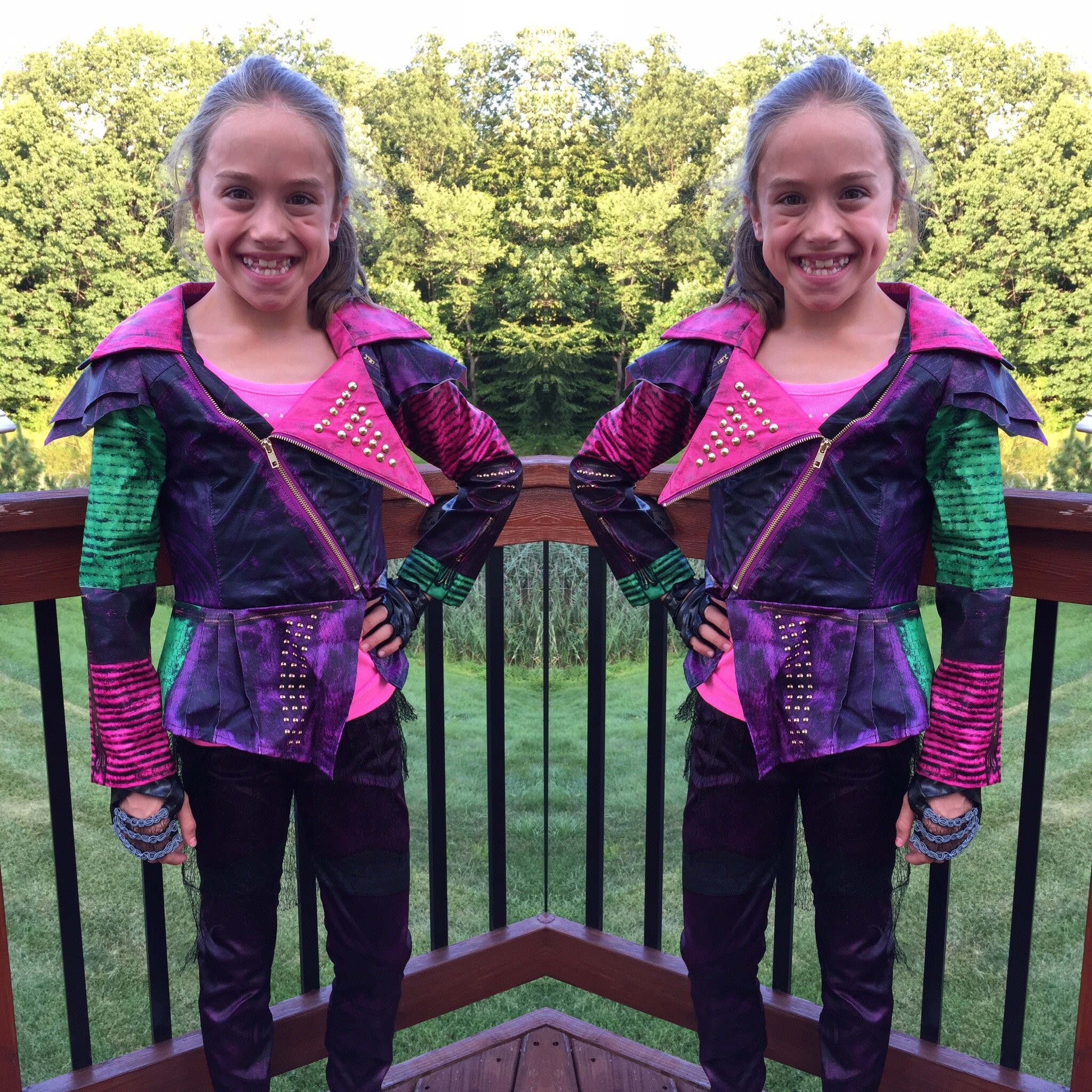 Disney Descendants Mal Costume Photos Video and Ideas for Halloween