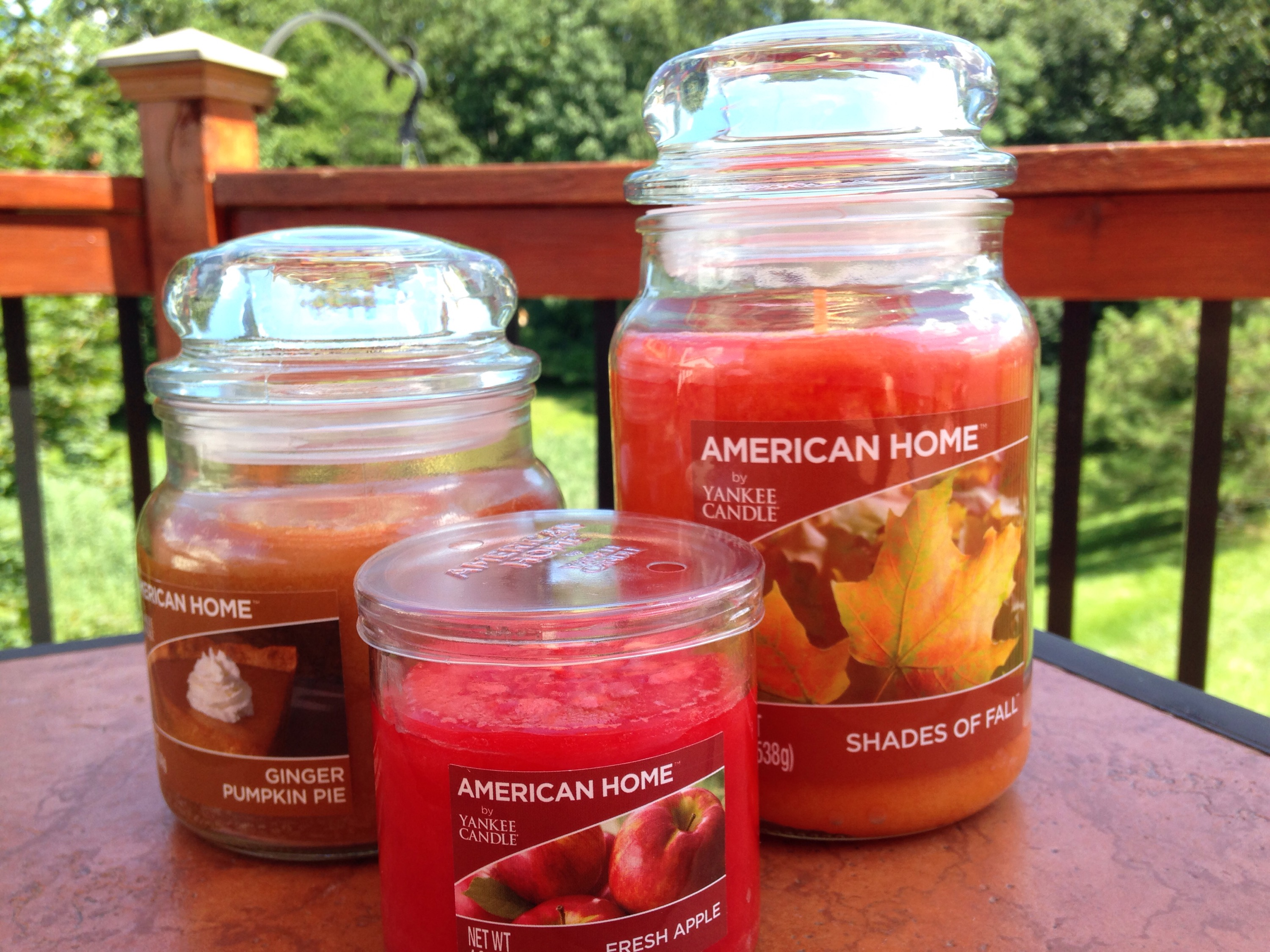 new yankee candle american home collection classy mommy. Black Bedroom Furniture Sets. Home Design Ideas