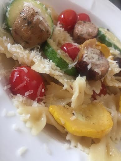 Summer Veggie Pasta 2