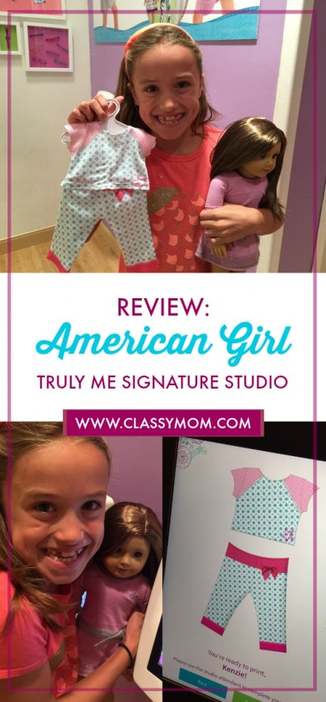 American Girl Truly Me Signature Studio Video Review and Photos