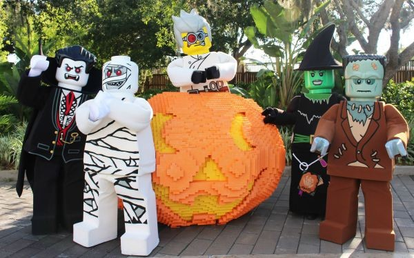 Halloween at Legoland Florida Brick or Treat