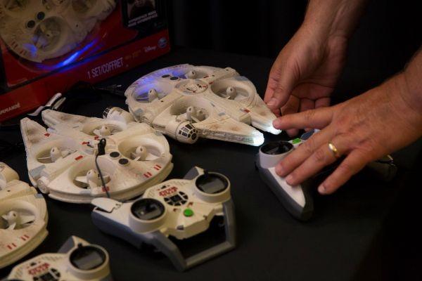star wars remote control falcon