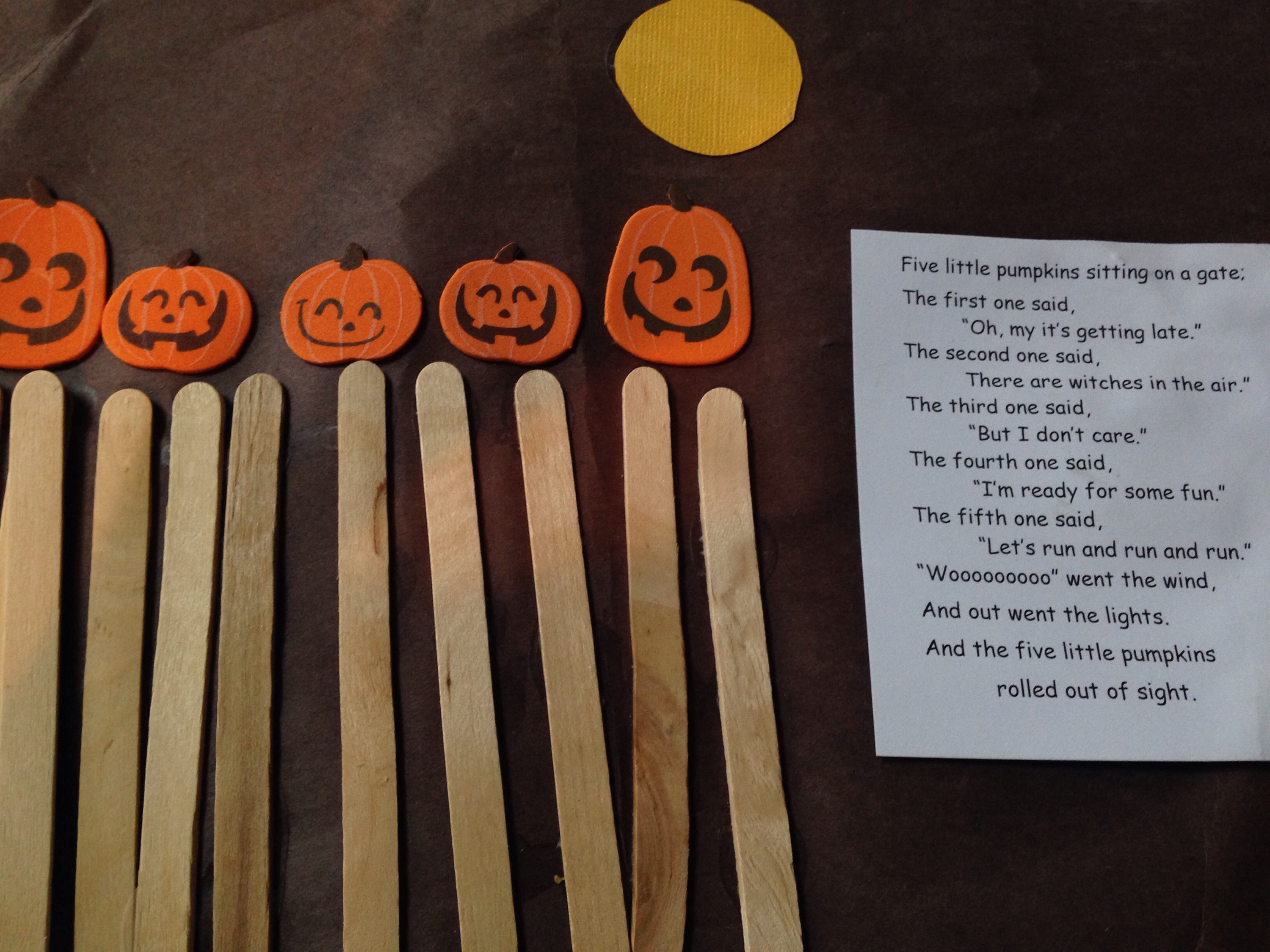 image relating to Five Little Pumpkins Poem Printable identified as 5 Small Pumpkins Poem and Crafts - Cly Mommy