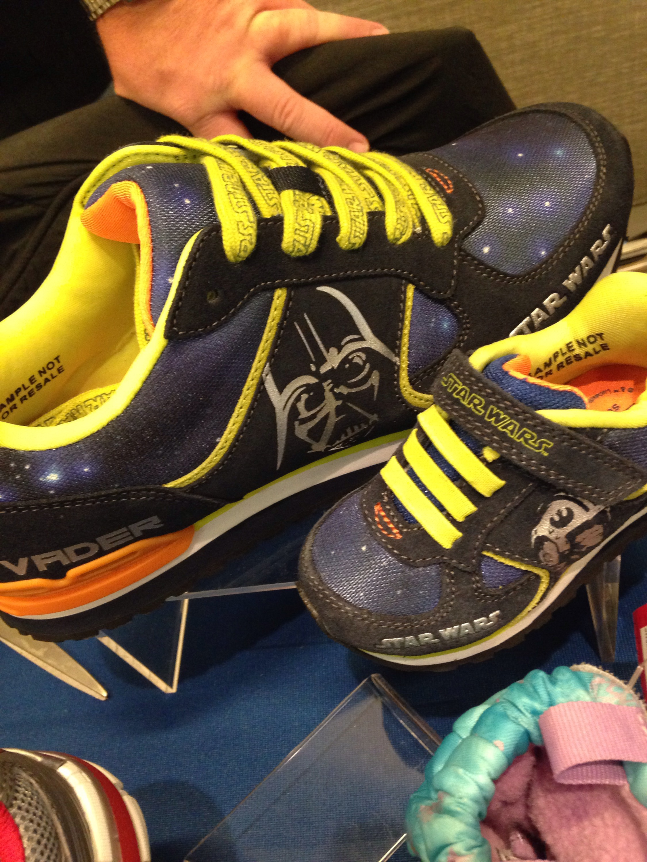 Video and Photos Limited Edition Stride Rite Star Wars retro sneakers