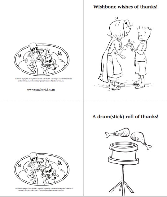 Free Judy Moody and Stink Printables