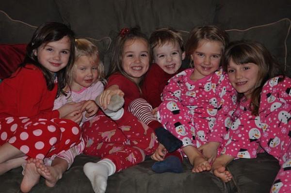 Christmas Pajamas 2010