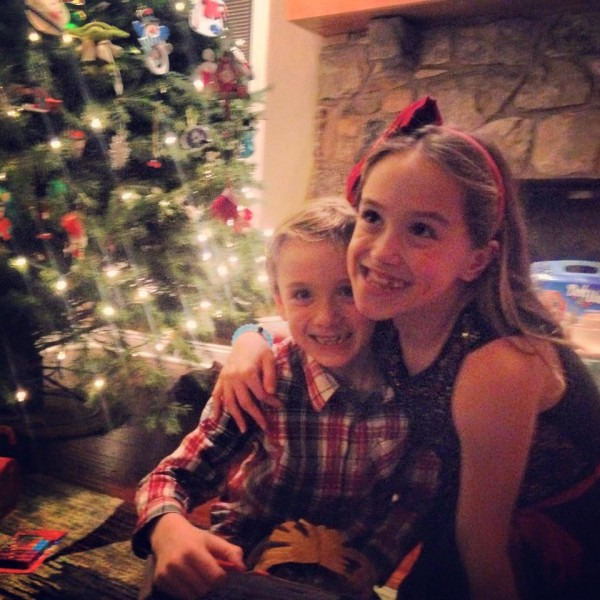 Kenzie and Kyle Merry Christmas 2015