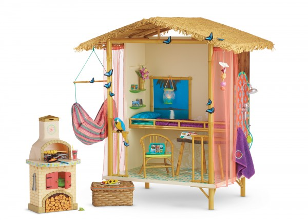 American Girl Doll of the year Lea Clark Rainforest House