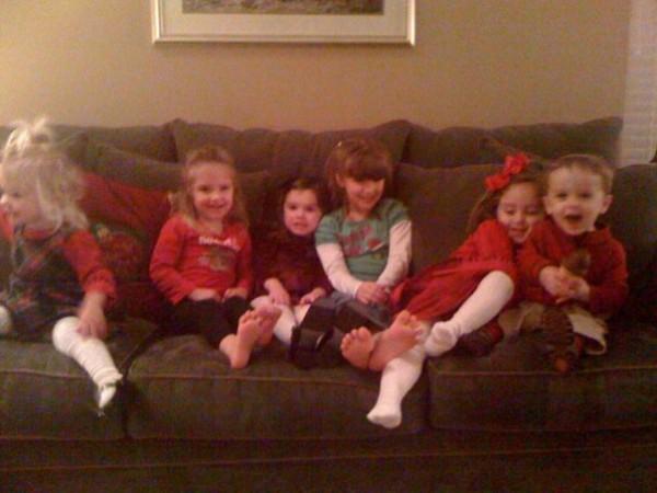 christmas kids 2009