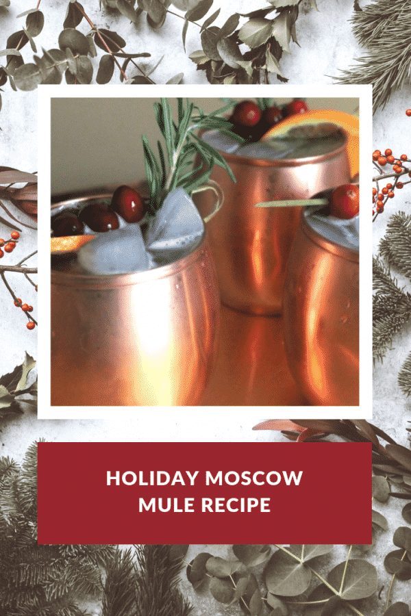 Holiday Moscow Mule Recipe