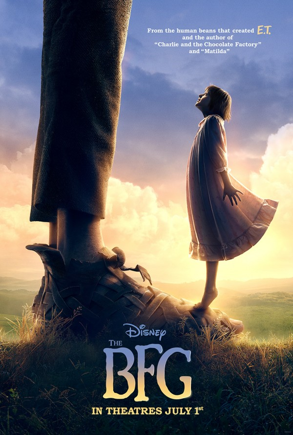 The BFG Official Trailer and Movie Poster