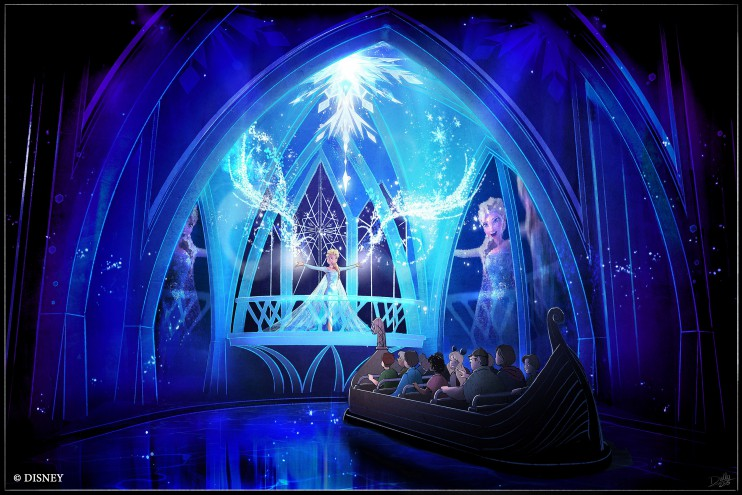 Frozen Ever After at Epcot Images