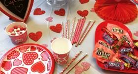 Simple Valentine's Day party DecorIdeas