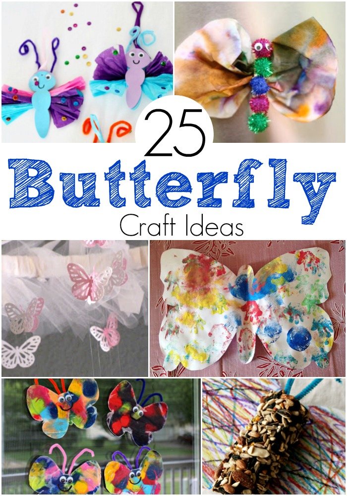 25 Awesome Butterfly Craft Ideas