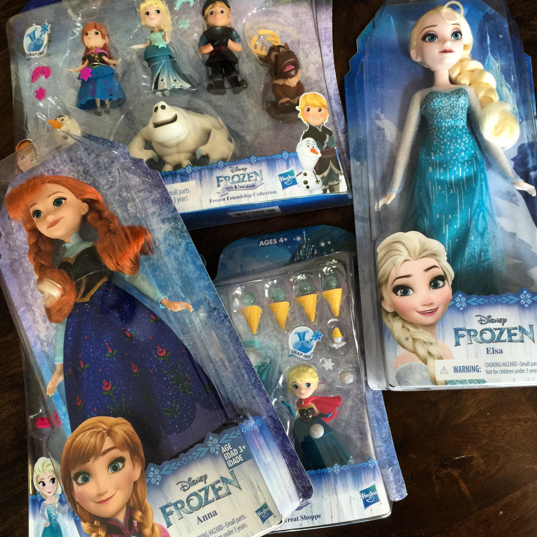 New Hasbro Frozen Toys Catch The Frozen Premiere On Tv