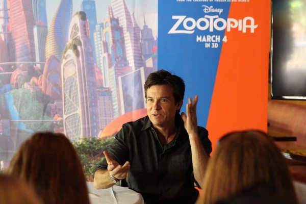 Jason Bateman Zootopia interview