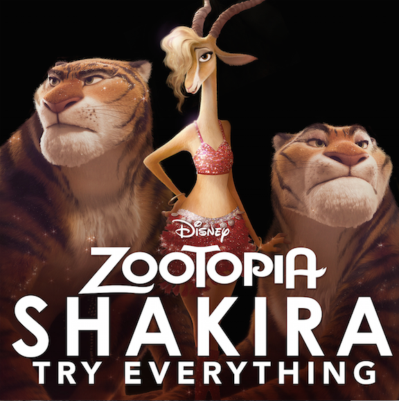 Shakira Try Everything Zootopia Images