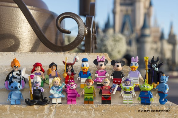 Brand New Disney LEGO MiniFigures Series Details