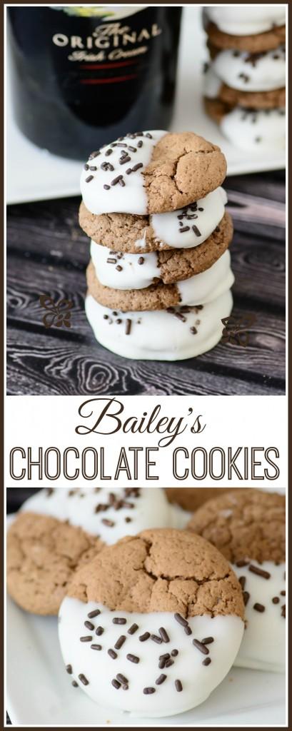 Best Bailey's Irish Cream Chocolate Cookies Recipe