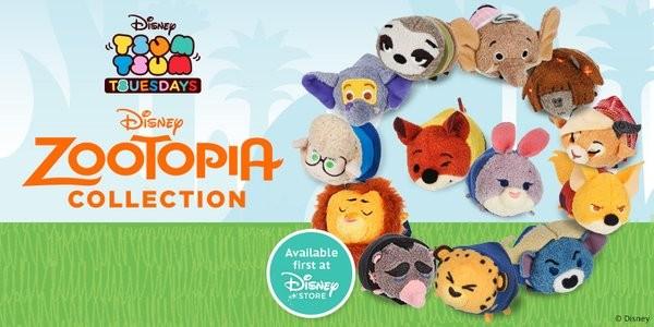 Disney Zootopia Tsum Tsum Collection