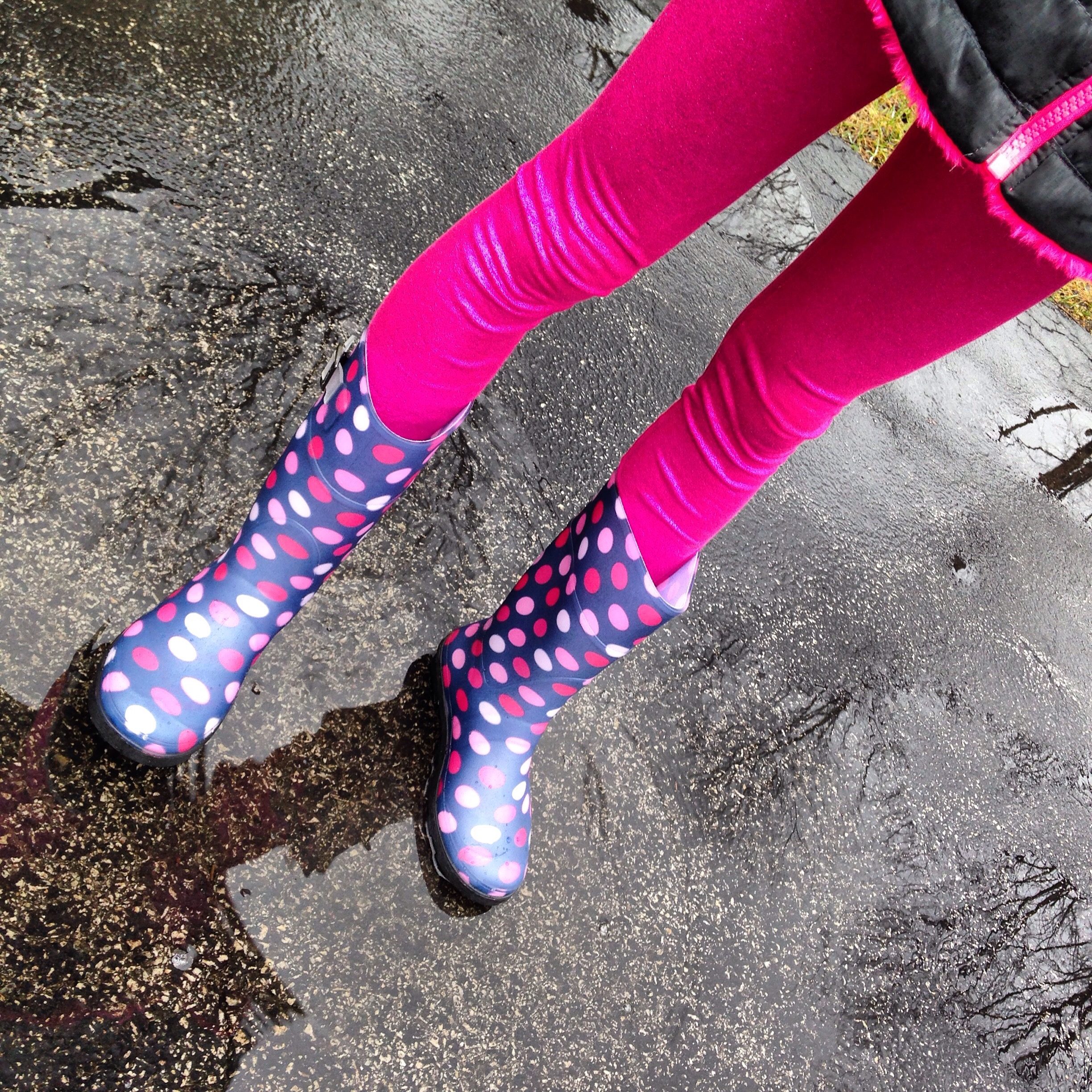 Polka Dot Rain Boots from Kamik