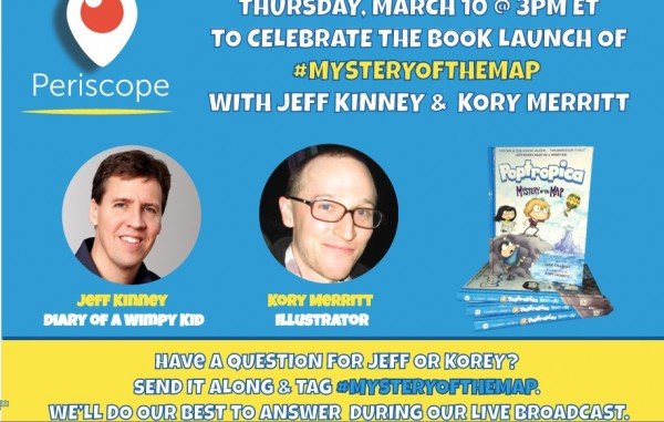 Periscope chat with Jeff Kinney